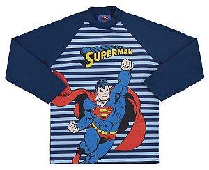 Camiseta Superman Proteção UV 50 FPS Azul - Marlan