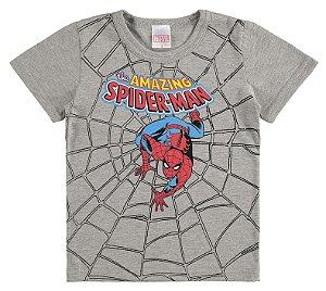 Camiseta Homem Aranha Cinza -Baby - Marlan