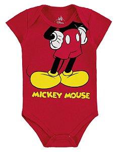 Body Mickey Disney - Vermelho - Marlan