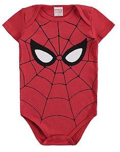 Body Bebê Homem Aranha Vermelho - Marlan