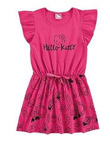 Vestido Hello Kitty - Rosa - Marlan
