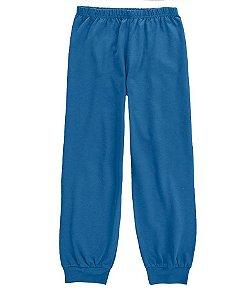 Calça de Malha Infanto Juvenil Azul - Malwee Moda Casa