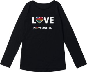 Blusa Juvenil Now United Preta - Malwee