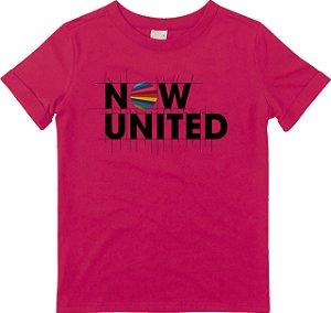 Blusa Juvenil Now United Rosa - Malwee