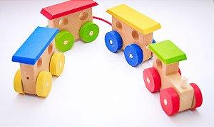 Trem com vagões