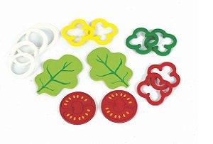 Kit Salada - Brincando de Comidinha