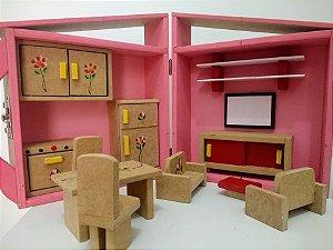 Casinha de boneca Maleta P