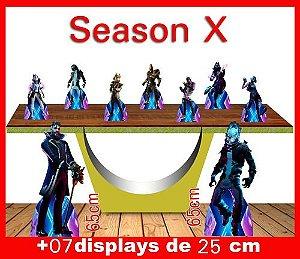 Display Season X, Totem Enfeite De Aniversario, Festas ...