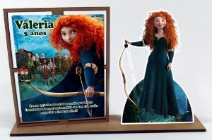 Porta Retrato Princesa Valente, Com 10 Unidades