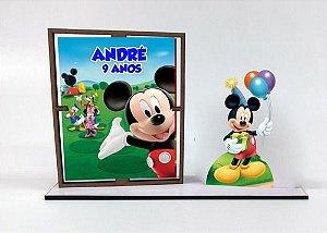 Porta Retrato Personalizado Mickey , Com 10 Unidades