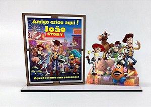 Porta Retrato Personalizado Toy Story  , Com 10 Unidades