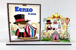 Porta Retrato Circo, Com 10 Unidades