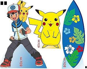 Display Pokemon, Totem De Chão Enfeite De Aniversario
