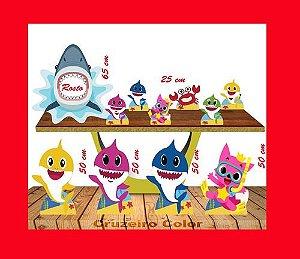 Display Shark Baby,placa Para Foto Para Festa De Aniversario