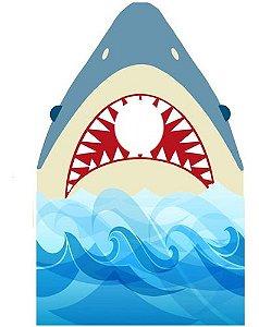Display Tubarão Para Bate Foto, Totem De Chão