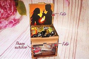 Presente Criativo Casamentos E Namorados Personalizado