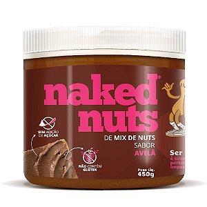 Pasta de Mix de Nuts Avelã Com Chocolate 450g - Naked Nuts