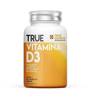 True Vitamina D3 2000UI 60 Cápsulas - True Source
