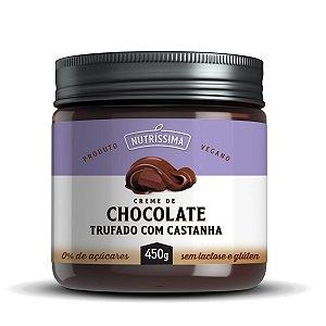 Creme de Chocolate Trufado Com Castanha 450g - Nutríssima