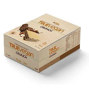 True Vegan Crunch Chocolate Com Avelã 12 Unidades - True Source