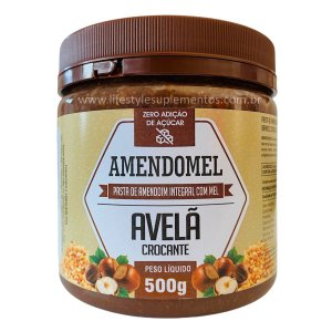 AmendoMel Avelã Crocante 500g - Thiani Alimentos