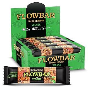 Barra de Granola Vegana Premium 12 Unidades - FlowBar