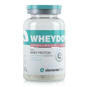 WheyDop 3W Morango c/ Leite Condensado 27g - Elemento Puro