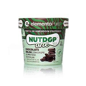 NutDop Veg One Chocolate Belga 60g - Elemento Puro