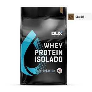Whey Protein Isolado Cookies 1800g - Dux Nutrition