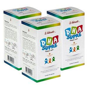 Kit 3x DHA Supre - Ômega 3 Infantil 30 Cápsulas - Naturalis