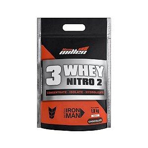 Whey 3W Nitro2 1800g - New Millen