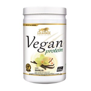 Vegan Protein Baunilha 450g - Leader Nutrition