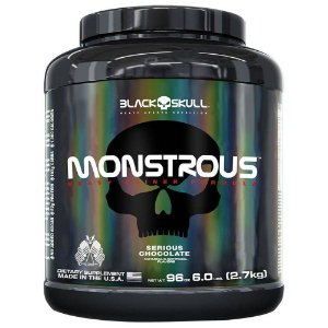 Monstrous Gainer 2,7Kg - Black Skull