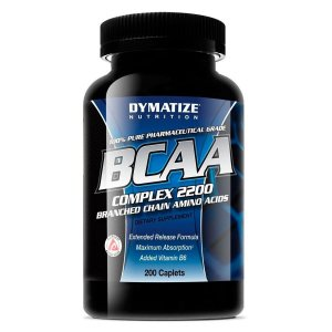 BCAA Complex 2200mg 200 Cápsulas - Dymatize Nutrition