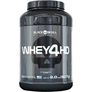 WHEY 4HD 900G - BLACK SKULL