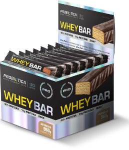 Whey Bar Low Carb C/ 24 barras - Probiótica