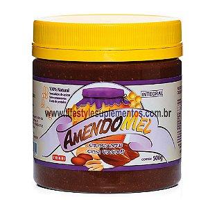AmendoMel Crocante com Cacau 500g - Thiani Alimentos