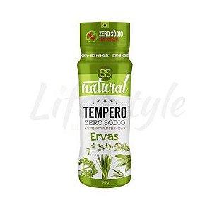Tempero Ervas Zero Sódio 50g - SS Natural