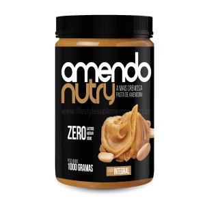 Pasta de Amendoim Integral 1Kg - AmendoNutry