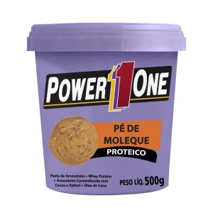 Pé De Moleque Proteico 500g - Power One