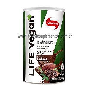 Life Vegan Cacau 450g - Vitafor