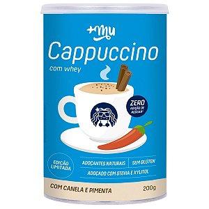 Cappuccino com Whey Canela e Pimenta 200g - Mais Mu
