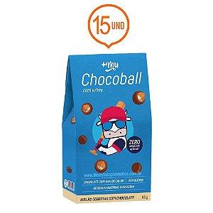 Combo 15 Chocoballs Com Whey 60g - Mais Mu