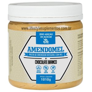 AmendoMel Chocolate Branco 1010g - Thiani Alimentos