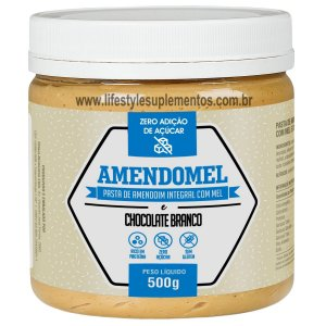 AmendoMel Chocolate Branco 500g - Thiani Alimentos