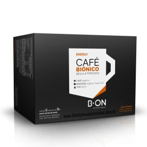 Café Biônico Display Com 12 Und. (Bulletproof) - B-On