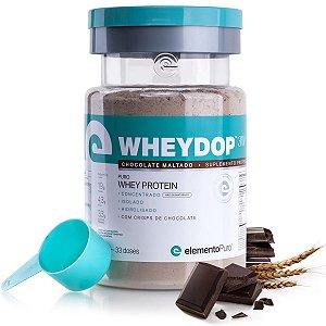 WheyDop 3W 900g Chocolate Maltado - Elemento Puro