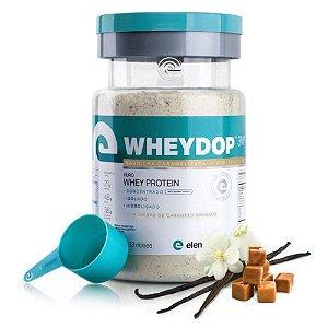 WheyDop 3W (900g) Baunilha Caramelizada - Elemento Puro