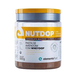 NutDop 500g Chocolate Maltado - Elemento Puro
