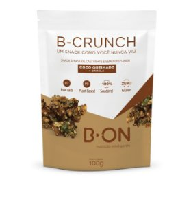 B-Crunch Coco Queimado + Canela 100g - B-ON